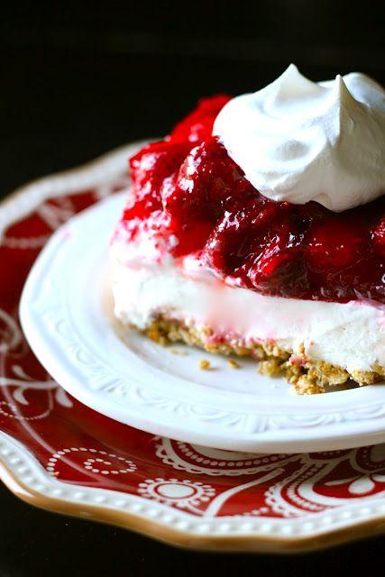 Strawberry-Pretzel Jello Salad