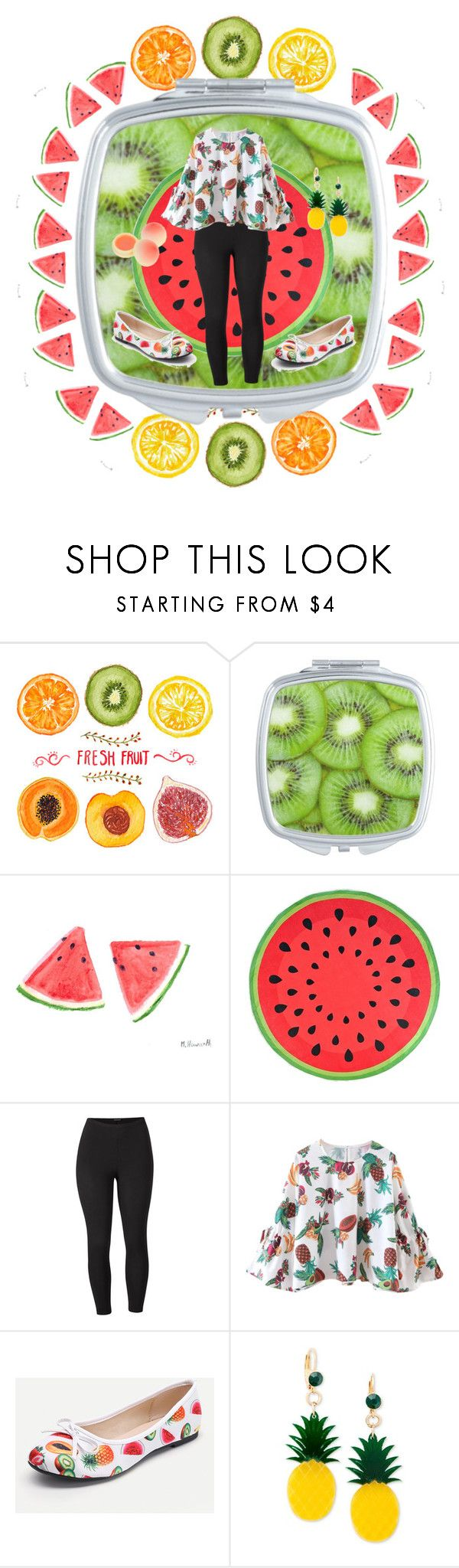 Luxury  Fruitastic by nichelle thompson liked on Polyvore featuring Venus Celebrate Shop