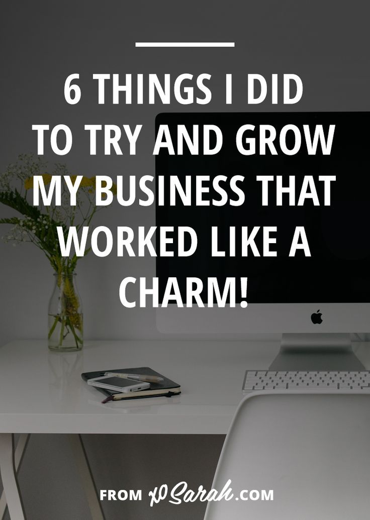 Two weeks ago I shared a few of my utter business fails, so this week I thought I'd flip the script and talk about the things I did to build my business that actually worked! It doesn't matter what your niche or what your goals are - if you're looking to