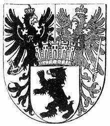 Wappen der Stadt Berlin 1875