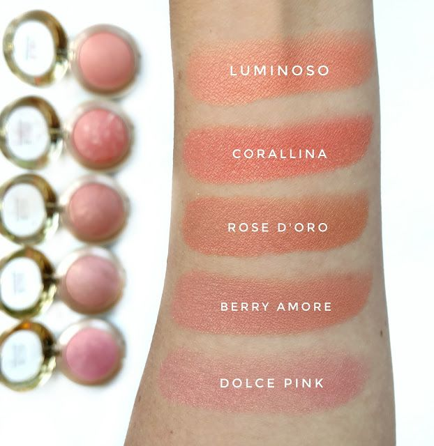 Milani Baked Blush Swatches | The Budget Beauty Blog
