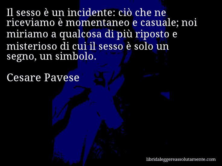 Cartolina con aforisma di Cesare Pavese.