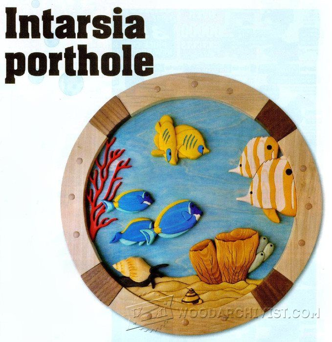 100+ [ Free Intarsia Woodworking Plans And ] | 61 Best ...
