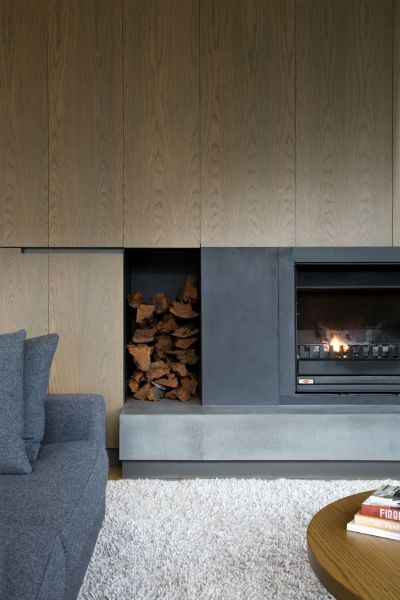 Wattletree Rd | Neil Architecture- fireplace details