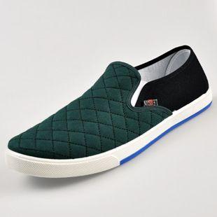 Canvas Loafers Herfst Casual Schoenen Mannen Slip op Flats Lente Rijden Schoenen Lui Oxford Schoenen Schoenen Sapato 24.5 27 cm 6 Kleuren in        van mannen flats op AliExpress.com | Alibaba Groep