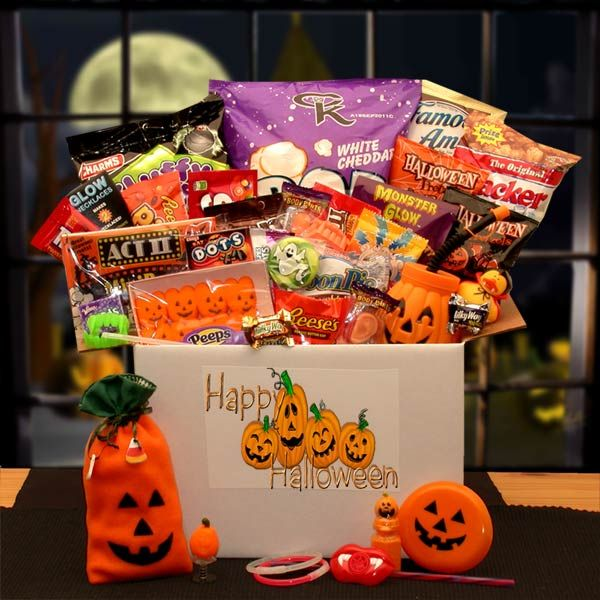 31 best Halloween Gift Baskets and Cookie Bouquets images on ...