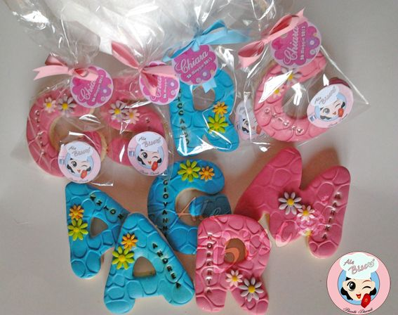 Biscotti decorati per compleanno  #birthdaycookie #cakedesign #fondant #cookies