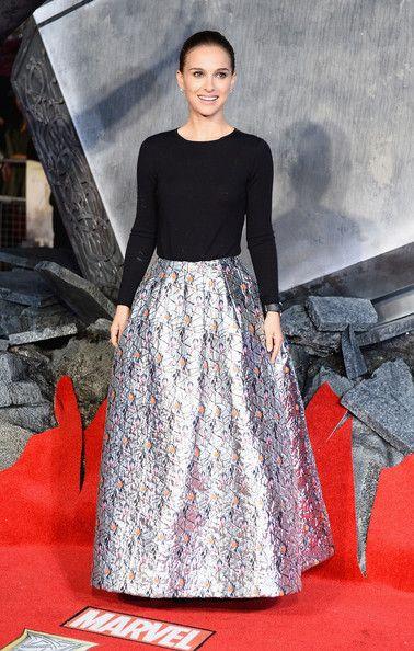 Natalie Portman - 'Thor: The Dark World' Premieres in London