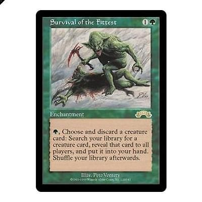 Magic The Gathering MTG Survival of the Fittest Exodus Singles