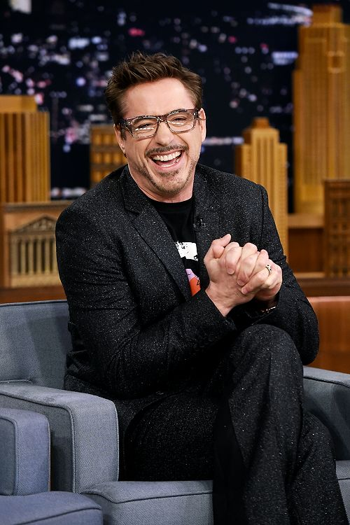 Robert Downey Jr. visits 'The Tonight Show Starring Jimmy Fallon' at Rockefeller Center on May 5, 2016 in New York City.