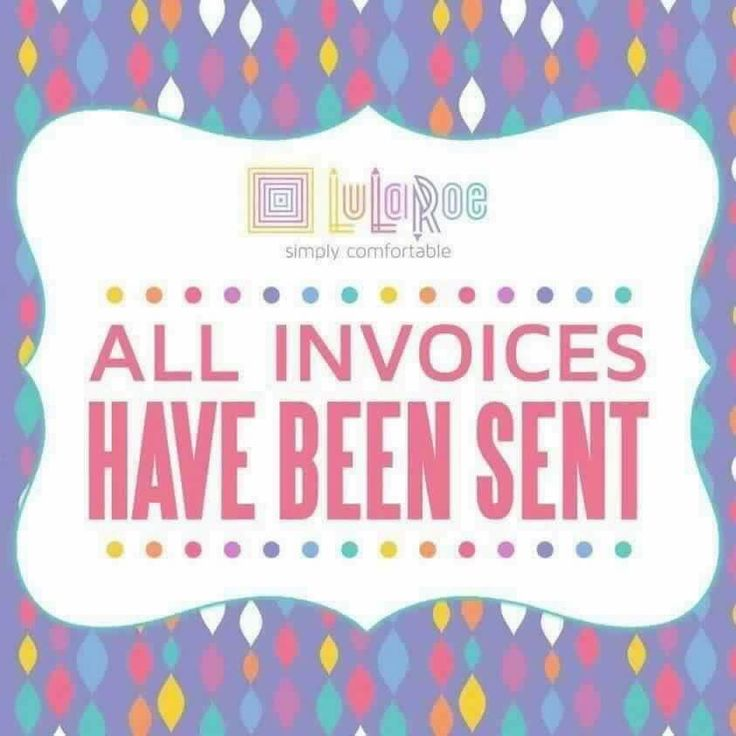 26 best LuLaRoe Invoices! images on Pinterest Invoices sent - how to send an invoice