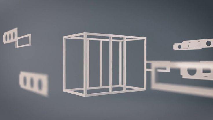 Refreshment Systems ward trolley animation, by Dan Woolley