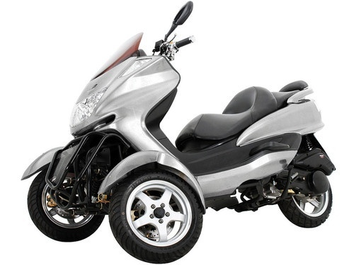 New Sunny Powersports Mc D150tka Silver Gas Roadrunner