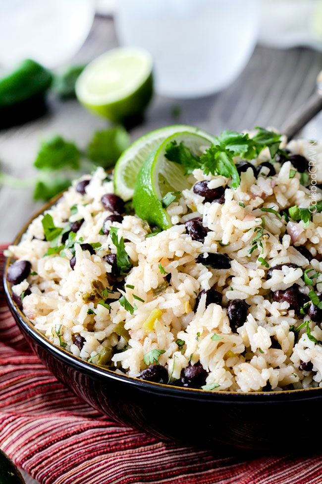 7. Black Beans and Rice #greatist http://greatist.com/eat/how-to-use-a-can-of-black-beans