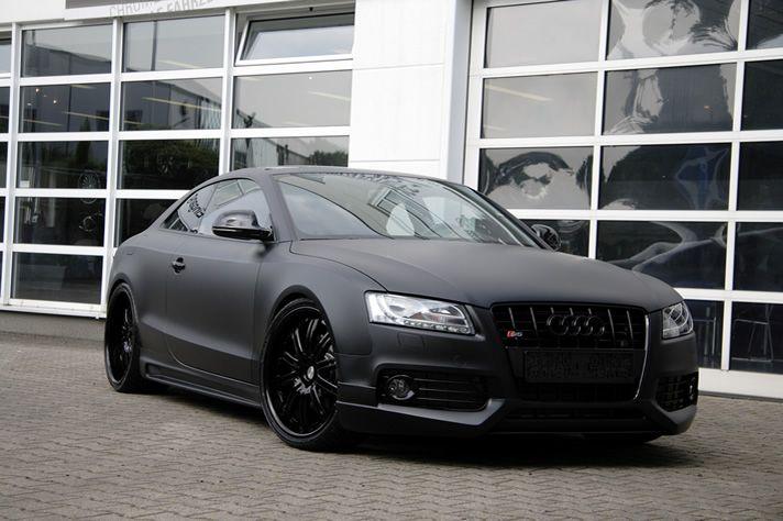 Audi S5 | Matte Black