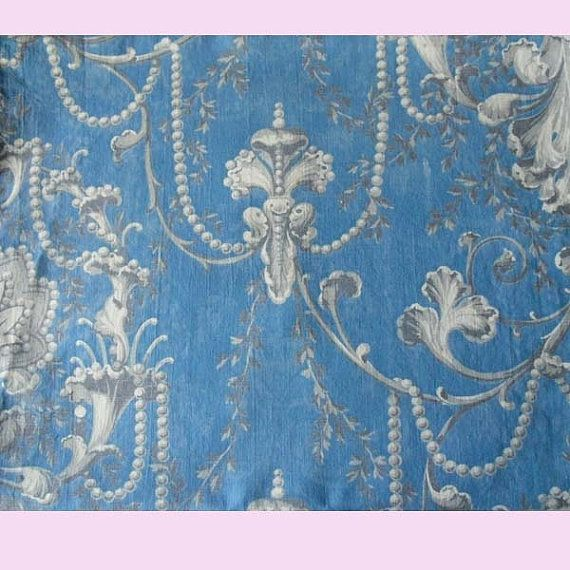 French toile fabric early 19th century n39 french for French toile fabric