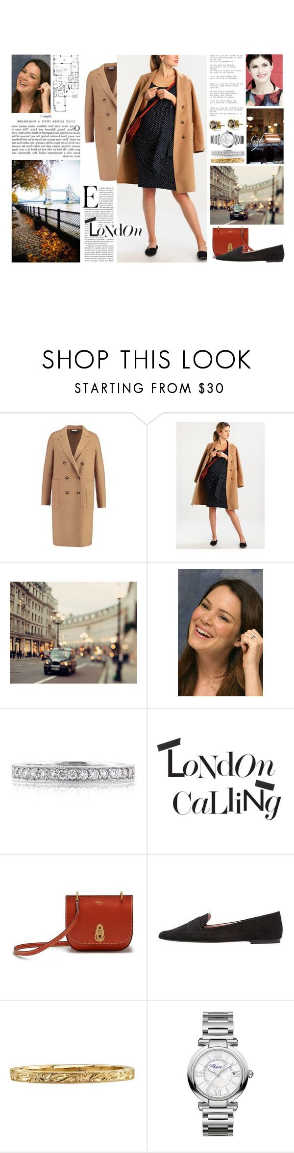 """""""Untitled #202"""" by duchessq ❤ liked on Polyvore featuring Aaiko, DuÅ¡an, WALL, Mark Broumand, Damaris, Mulberry, Envie de Fraise and Chopard"""