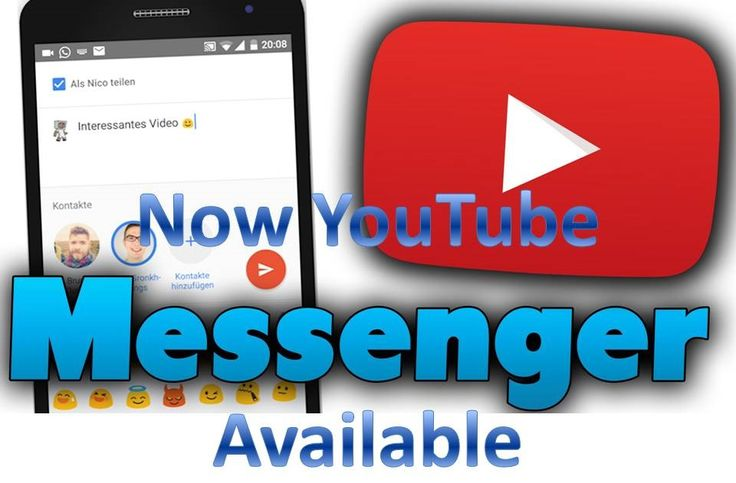 YouTube now close to being as Facebook Messenger