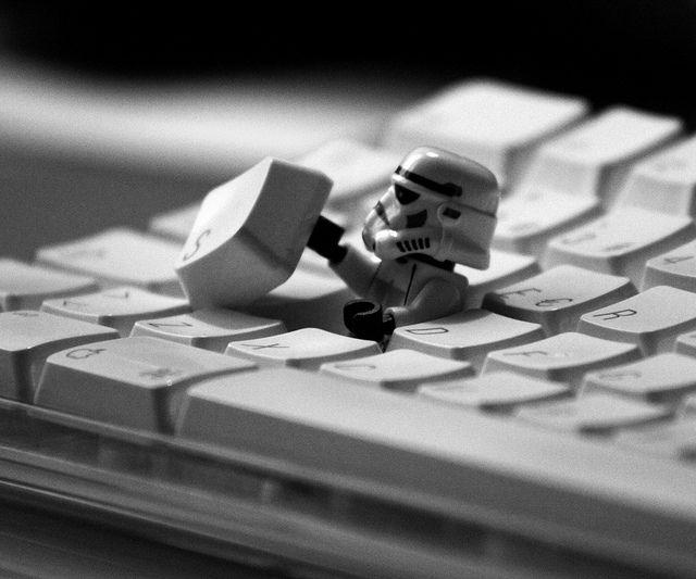 Esc! by gravis86 #Stormtrooper #Keyboard