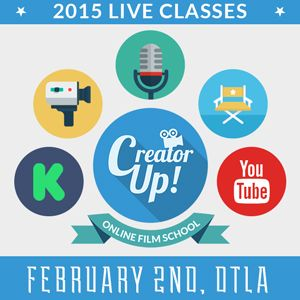 [ @CreatorUp 2015 Live Classes in Los Angeles - enrolling now ]   Founded by USC Film School alum, CreatorUp offers premium, yet affordable, professional training for the next generation of creative content creators. Launching their first set of LIVE classes FEBRUARY 2nd, 2015 in Los Angeles - and virtually. #cloudlearning #livestream #storytelling #crowdfunding #filmmaking #filmmakers #entrepreneurs #webseries #branding #contentcreation