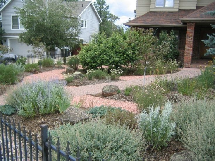 17 best images about xeriscape ideas on pinterest for Ideas for front yard plants