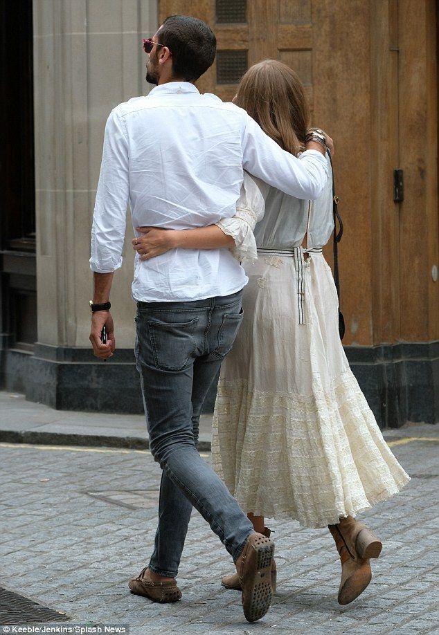 Millie Mackintosh nestles up to boyfriend Hugo Taylor on 27th birthday   Daily Mail Online
