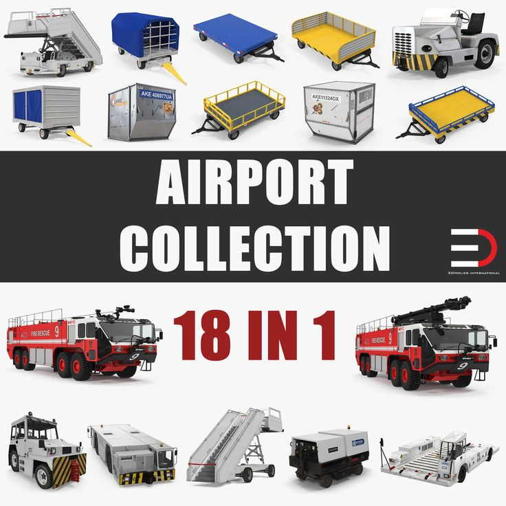3D Airport Collection