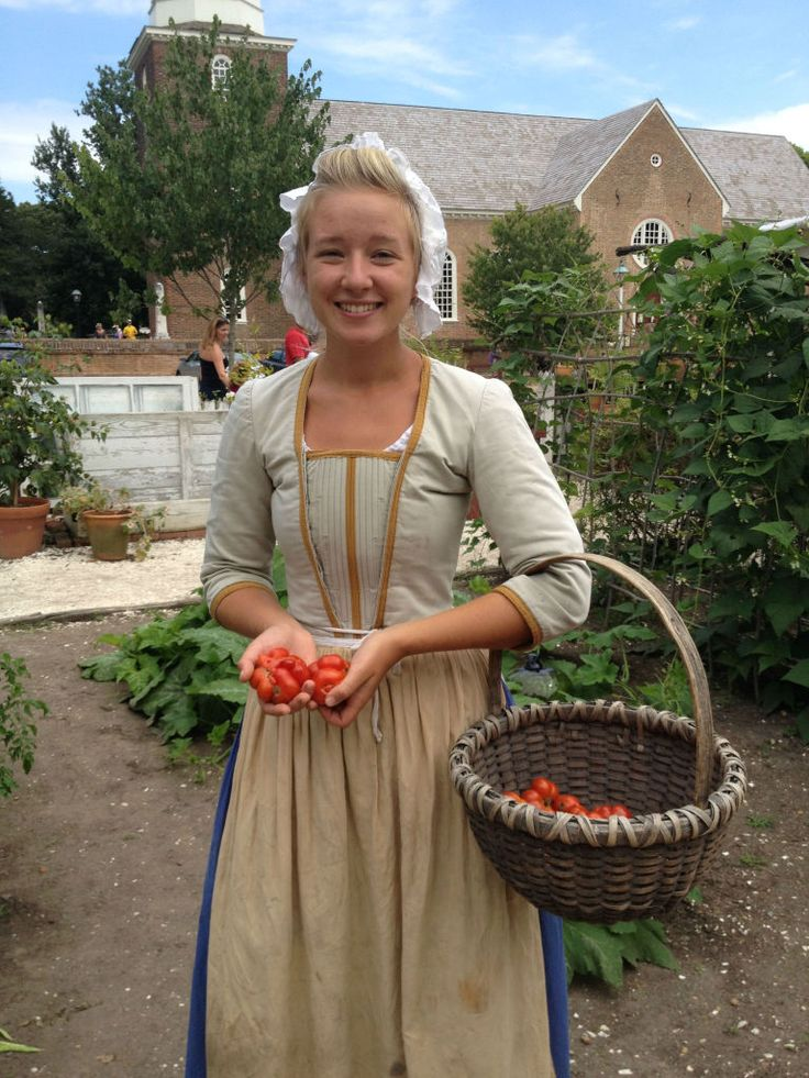 Gardener Jen Mrva. An article that describes a few 18th century vegetables and their uses.