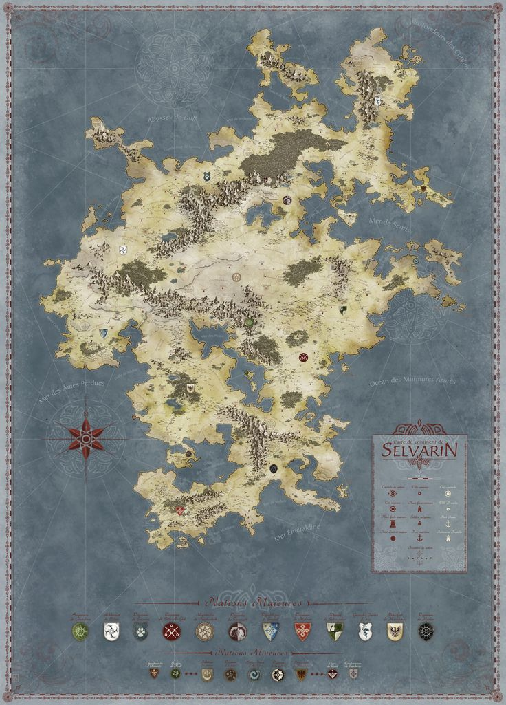 Featured map awarded on Cartographersu0027 guild com