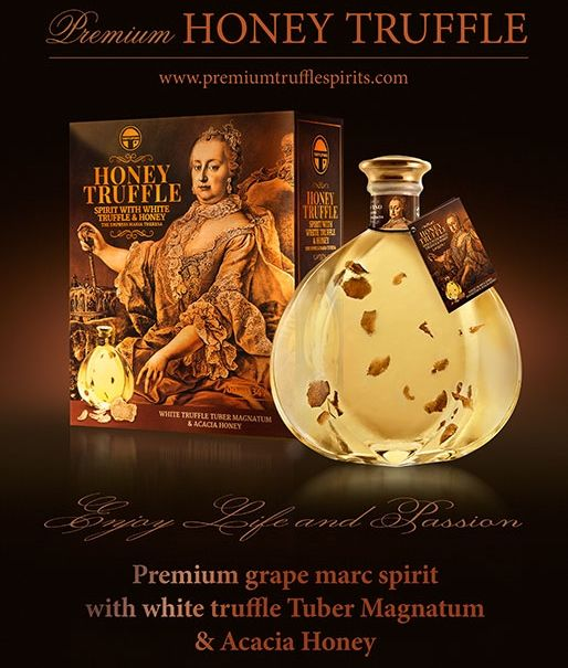 Unique and Premium Honey Truffle Spirit