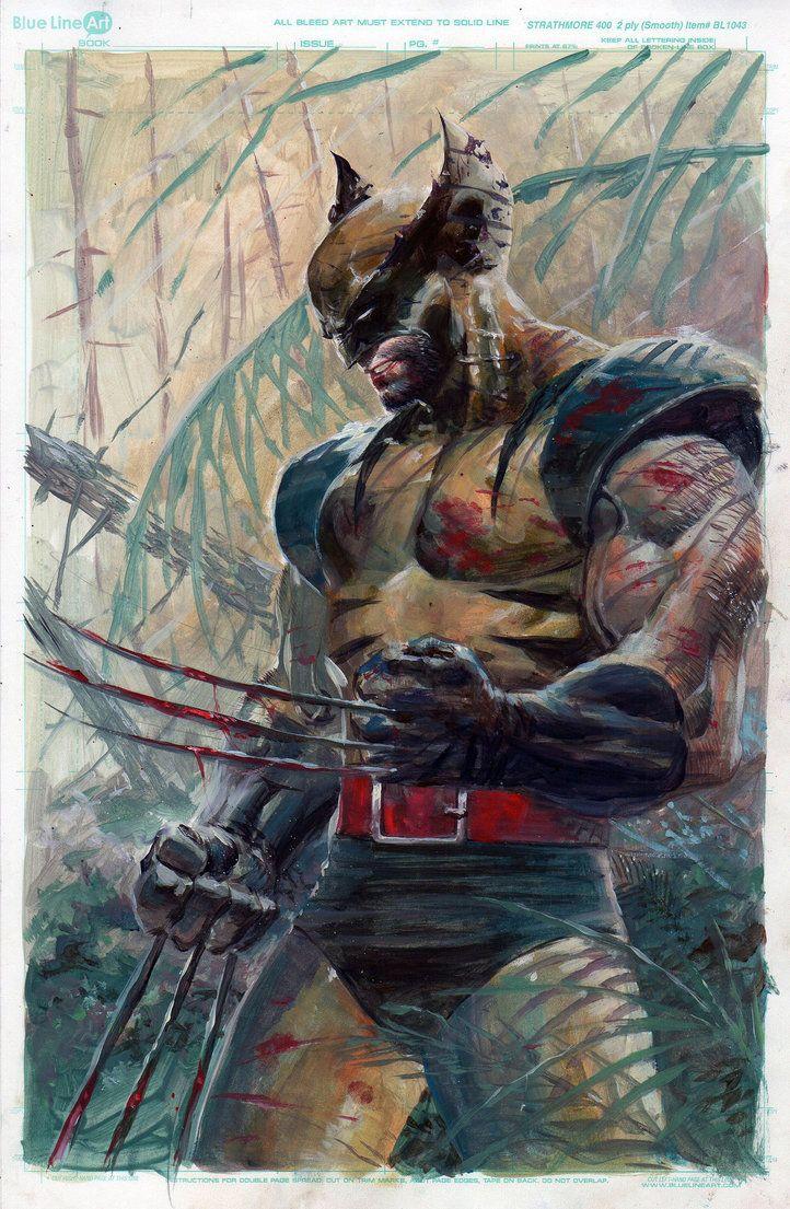Wolverine Oil by ardian-syaf on DeviantArt