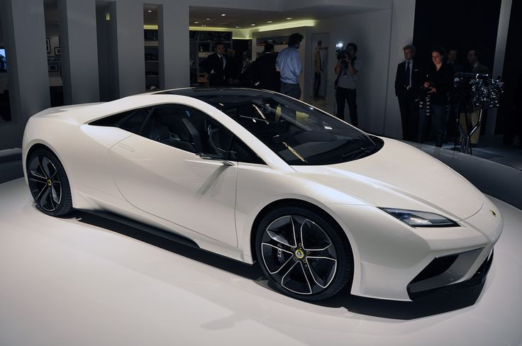 2017 Lotus Esprit front view white color design concept pictures
