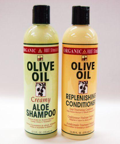 Organic Root Stimulator Hair Care Combo I- Aloe Shampoo 12.5oz + Replenishing Conditioner 12.5oz w/ FREE Gift by Organic Root Stimulator. $19.89