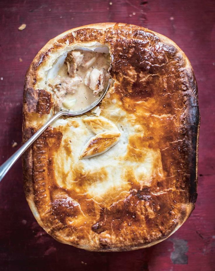 Chicken and ham hock pie by Nichola, Linsey & Gillian Reith from Three Sisters Bake | Cooked