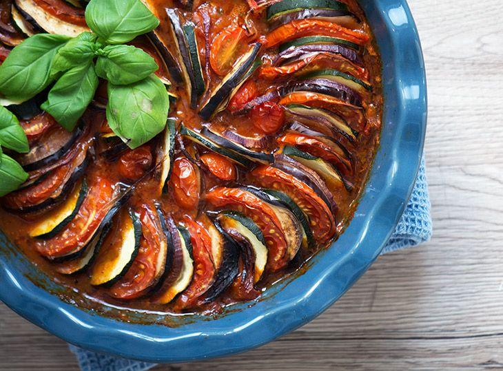 Ratatouille - nem og god opskrift på den lækre klassiske grøntsagsret