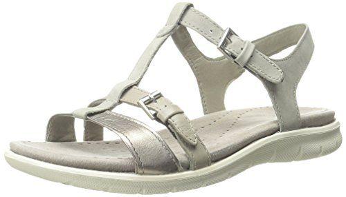 Sandale grau/silber