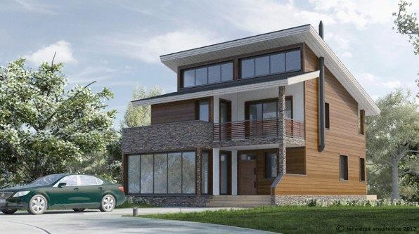 Kuusamo Log Houses, viviendas bioclimáticas energéticamente eficientes hechas de madera