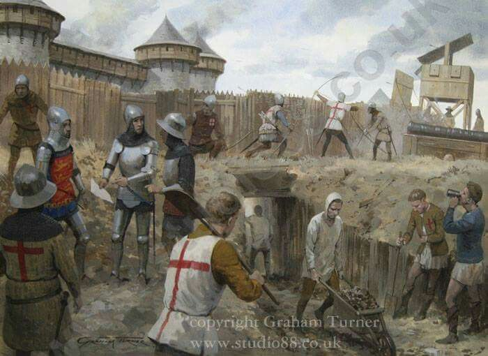 English Army of Henry V at Harfleur 1415