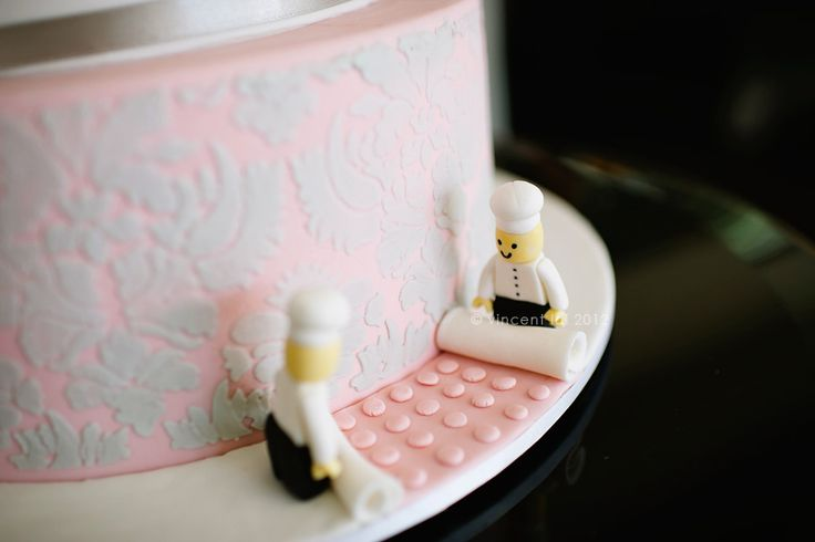 emphasis on small but subtle details... not in pink, but perhaps the wedding colors