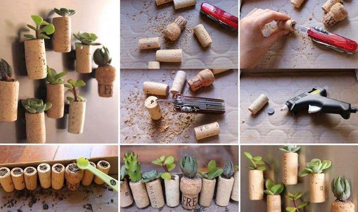 Idea para reutiluzar los corchos