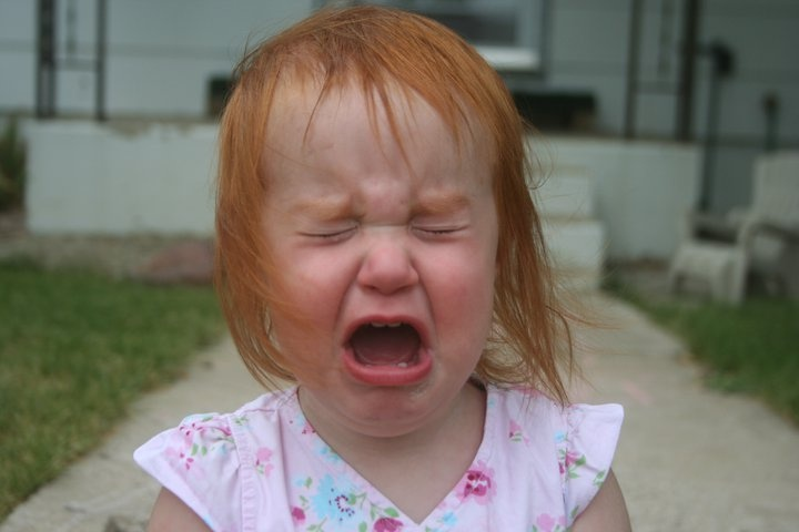 The Cutest Crying Baby Pictures