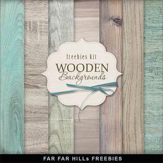 New Freebies Wooden Backgrounds - Far Far Hill