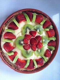 Kakemilla: Fruktterte / Fruit Tart