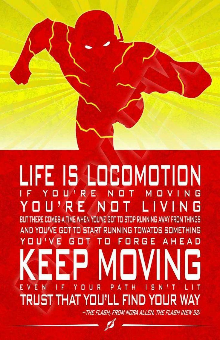 The Flash quote. Barry Allen. Justice League. DC Comics