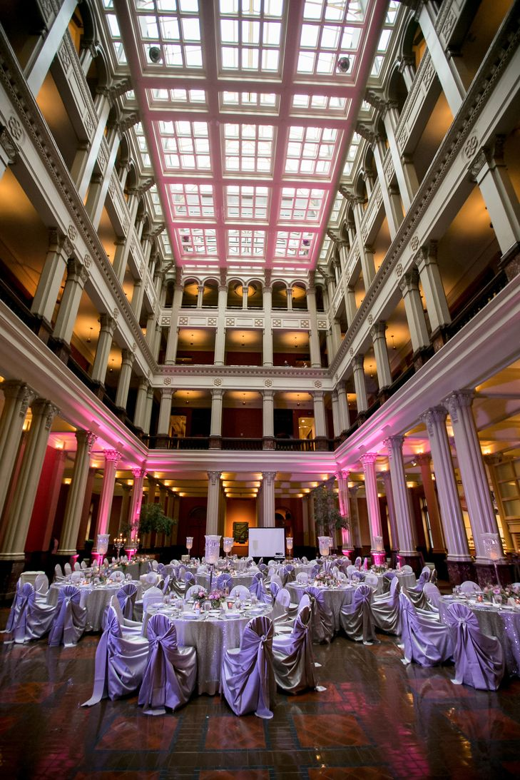 affordable wedding reception venues minnesota%0A A Classic  Sparkly Wedding at The Landmark Center in St