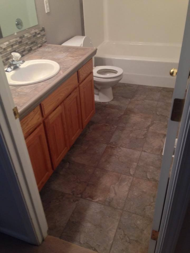 Tile Bathroom Floor Installed By Colortile Carpet In M Or Https