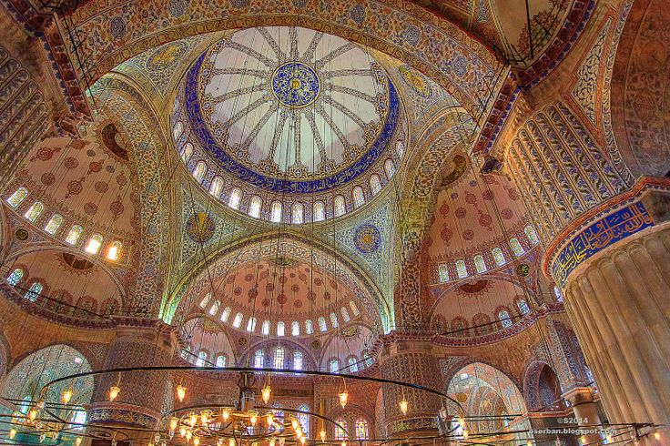 Octavian Serban: Discover Blue Mosque inside....