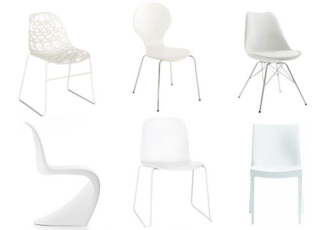 Je veux des chaises de table dépareillées