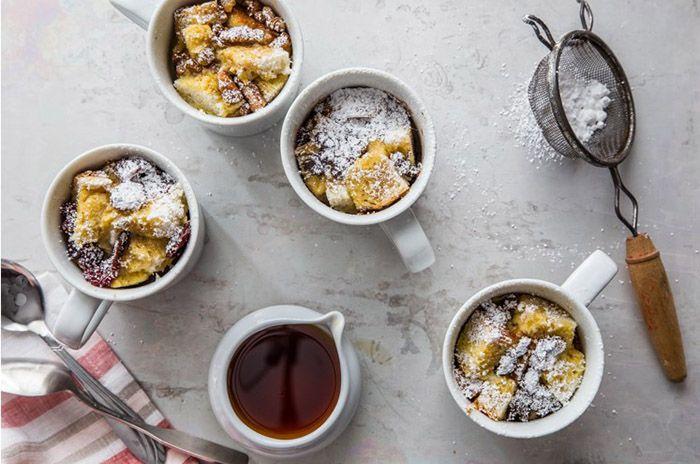 Французские тосты в чашке