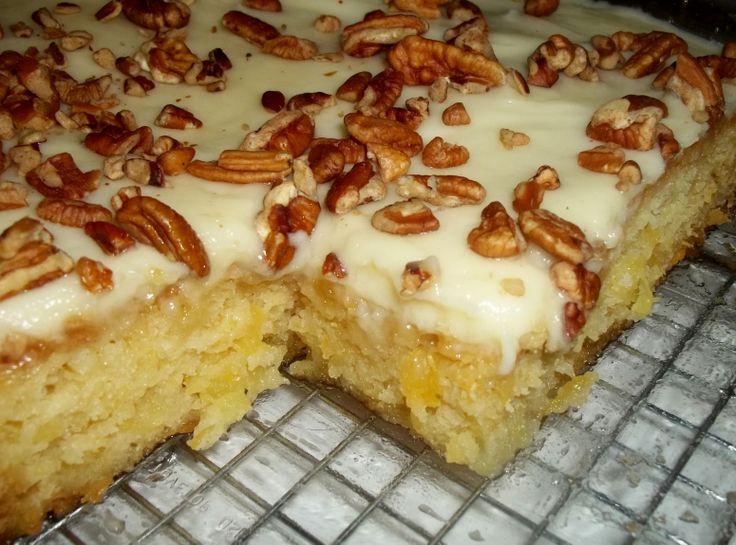 Cake Recipes In Pinterest: Easiest Pineapple Cake